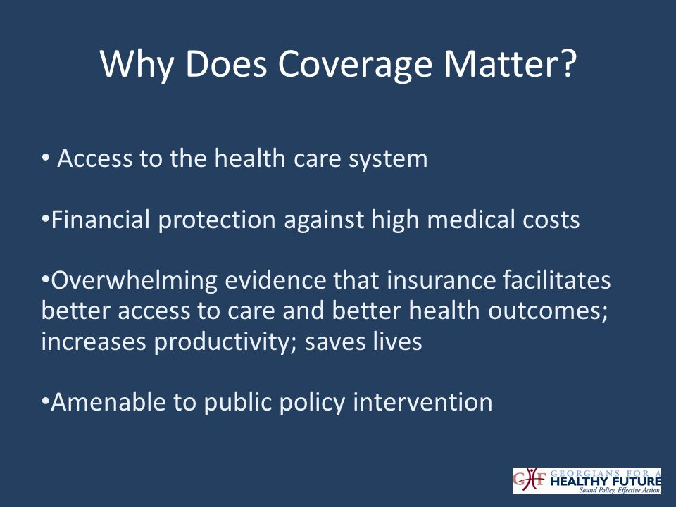 Why Expand Medicaid.