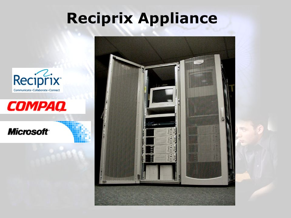 Reciprix Appliance