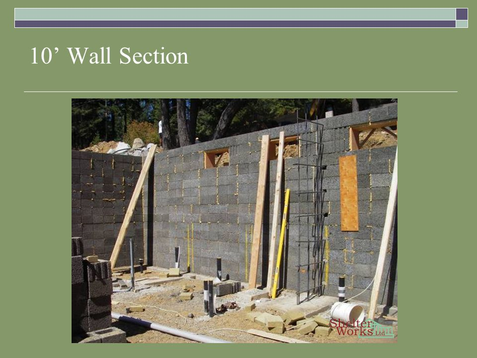 10 Wall Section