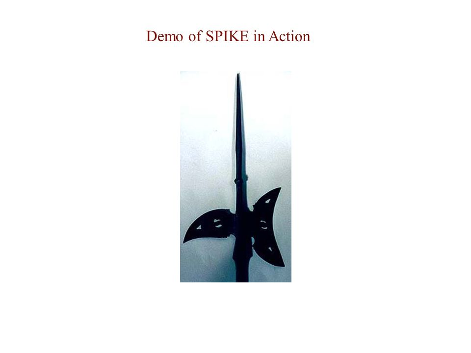 Demo of SPIKE in Action