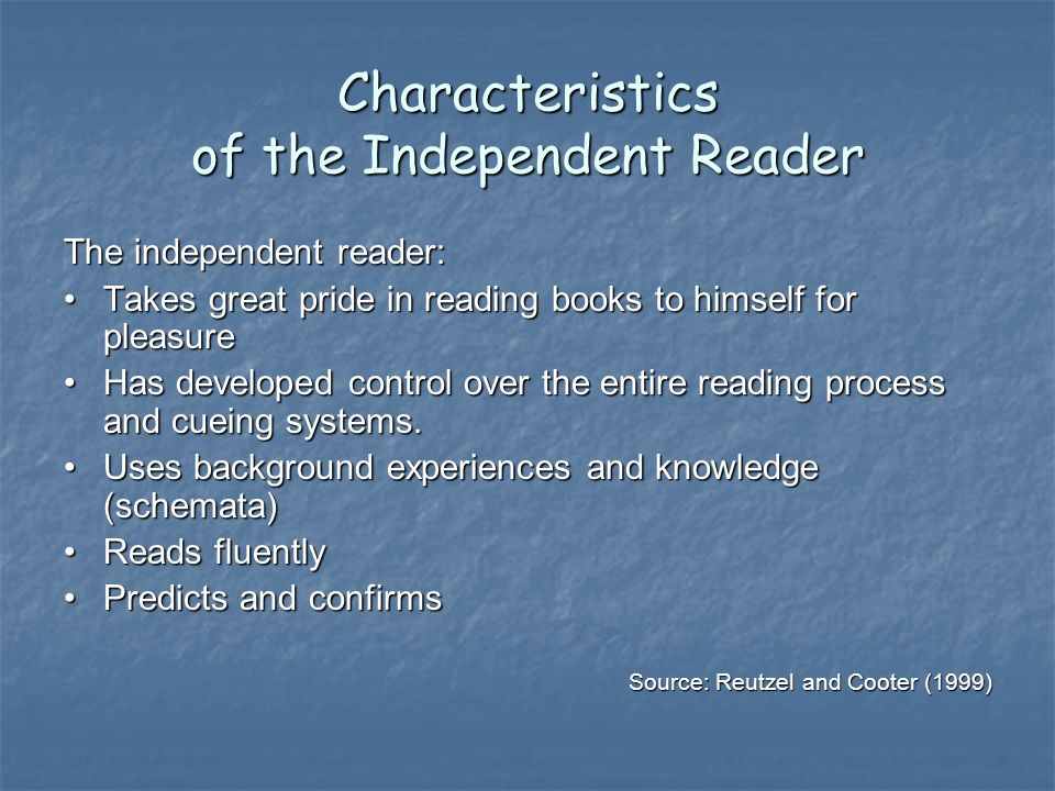 Presentation Highlights What does research say about independent reading?What does research say about independent reading.