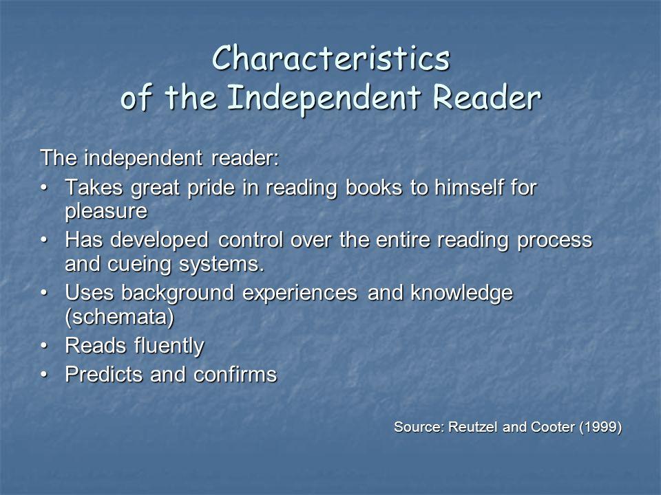 Independent Reading Rubrics Accountability piece Accountability piece Outstanding.