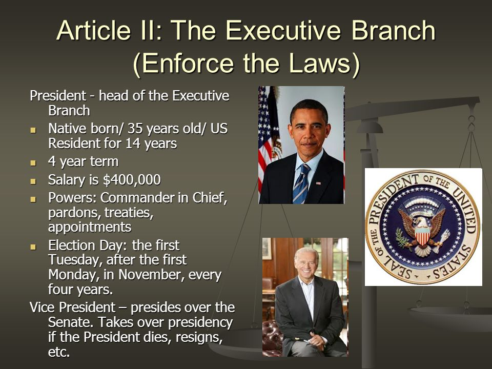 Article III: The Judicial Branch (Judge/Interpret the Laws) Supreme Court – the highest court in the U.S.