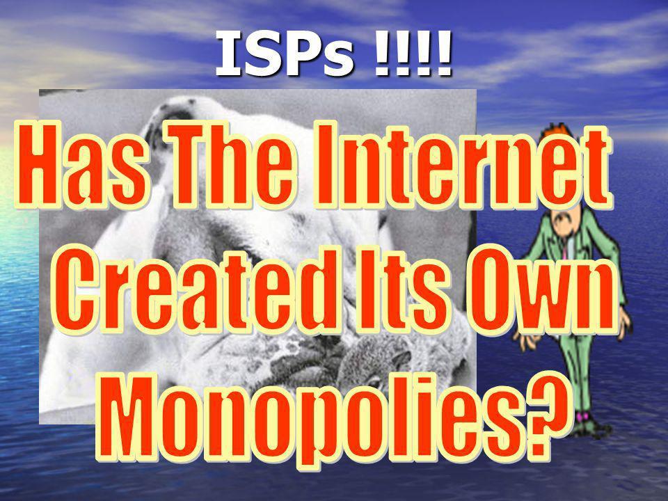 ISPs !!!!