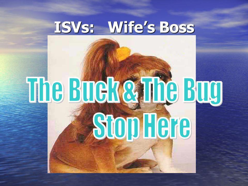 ISVs: Wifes Boss