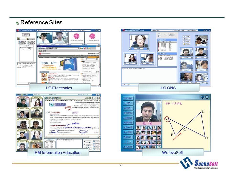 31 LG CNS WeloveSoftEM Information Education LG Electronics Reference Sites