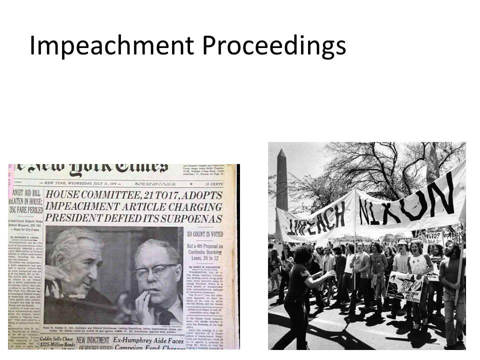 Impeachment Proceedings