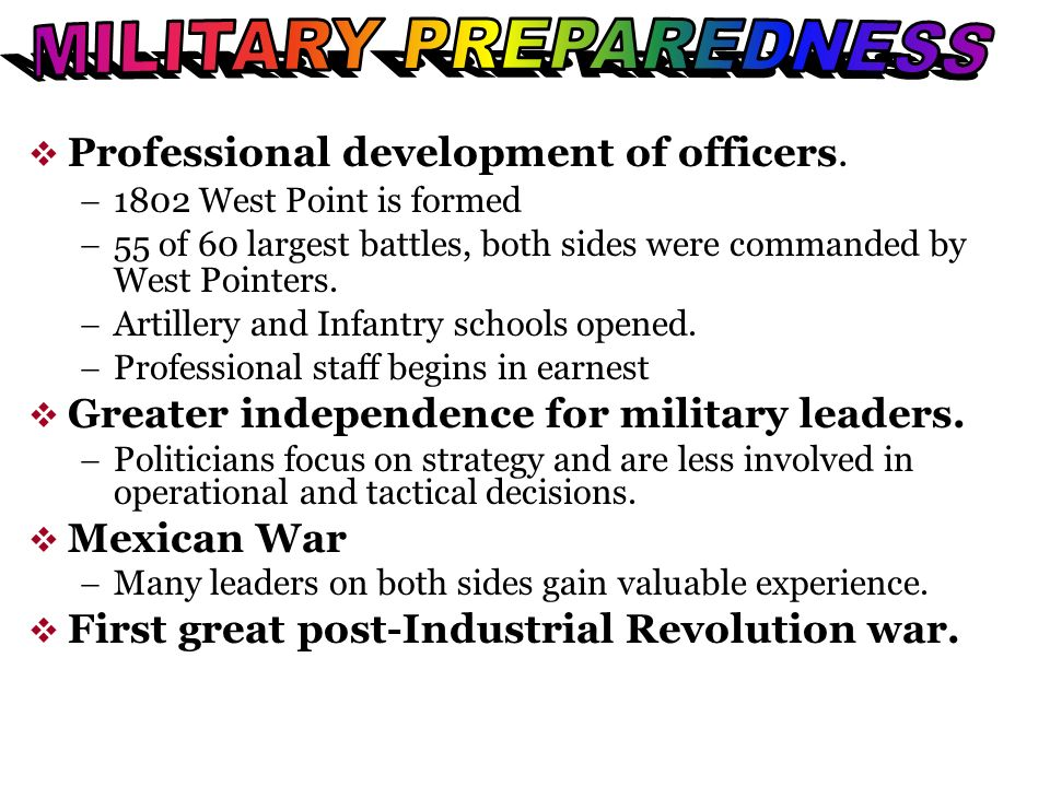 Professional development of officers.