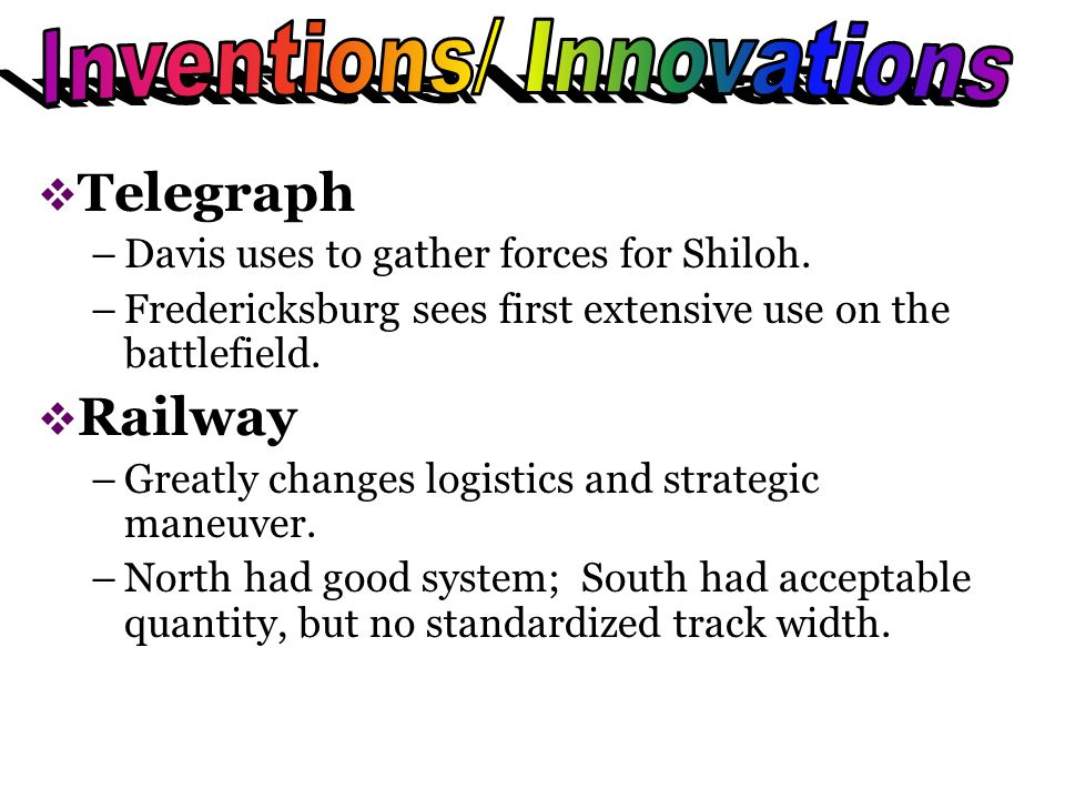 Telegraph –Davis uses to gather forces for Shiloh.