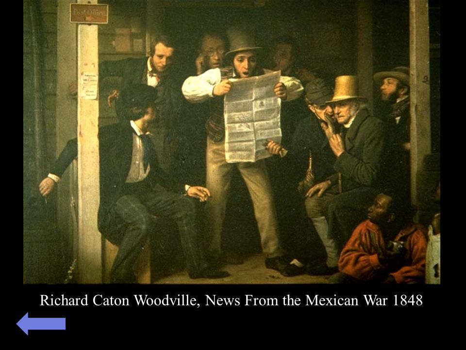 Richard Caton Woodville, News From the Mexican War 1848