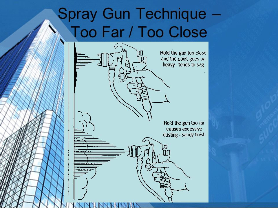 Spray Gun Technique - Arcing