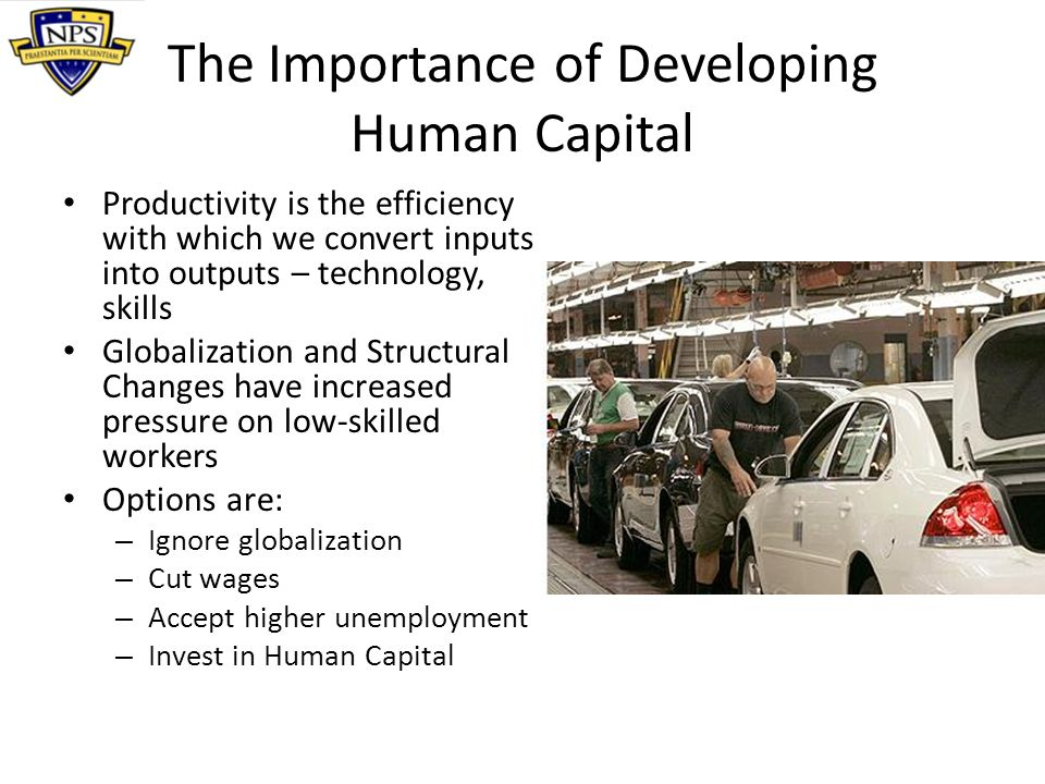 Summary Defining Human Capital The Importance of Human Capital Rates of Return for Various Education Levels The Effects of Human Capital on the Economy Measuring Human Capital Policies for Enhancing Human Capital Implications for US policy
