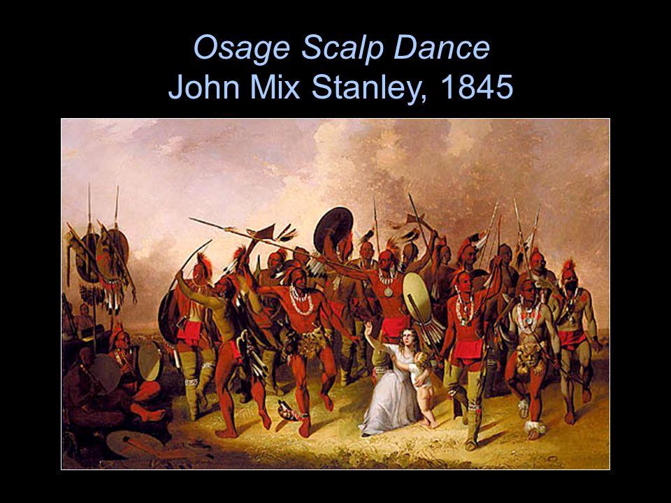 Osage Scalp Dance John Mix Stanley, 1845