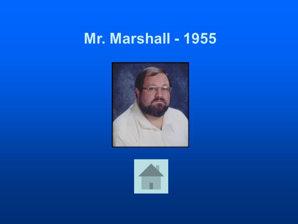 Mr. Marshall - 1955