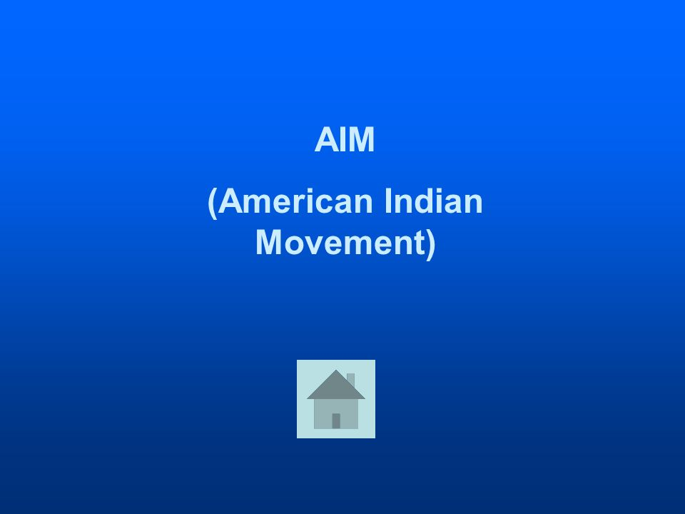 AIM (American Indian Movement)
