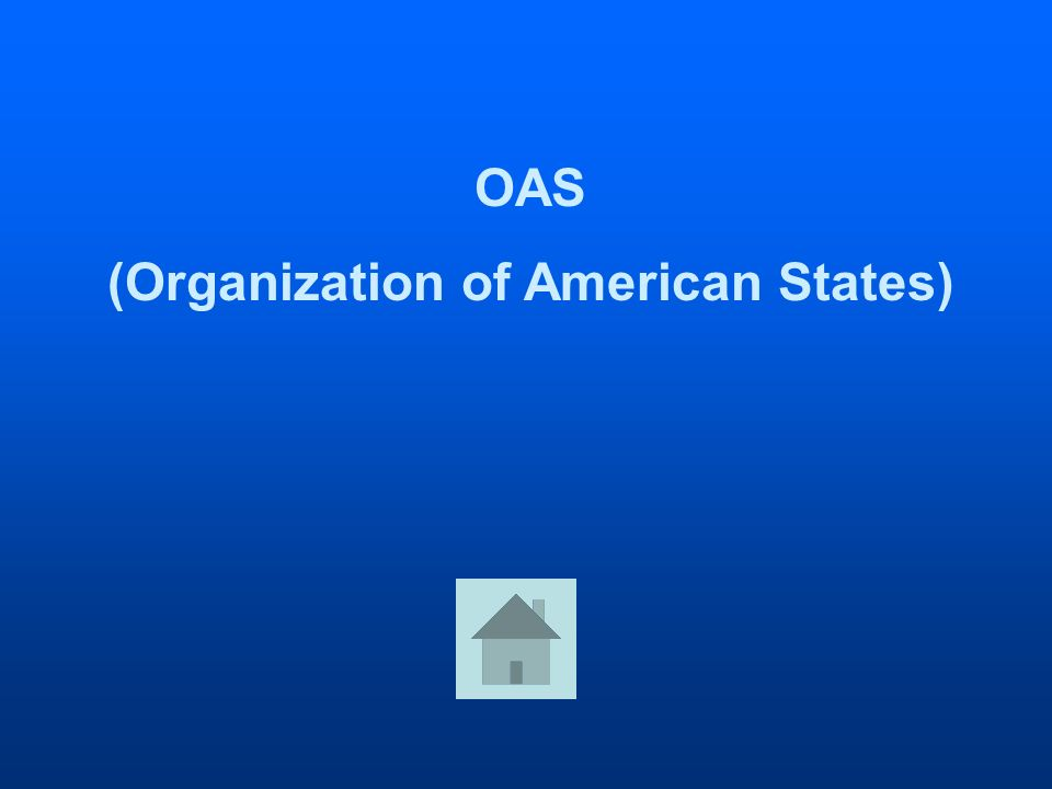 OAS (Organization of American States)
