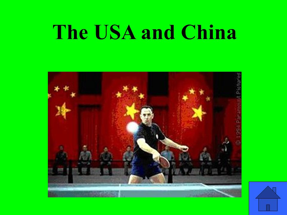 The USA and China