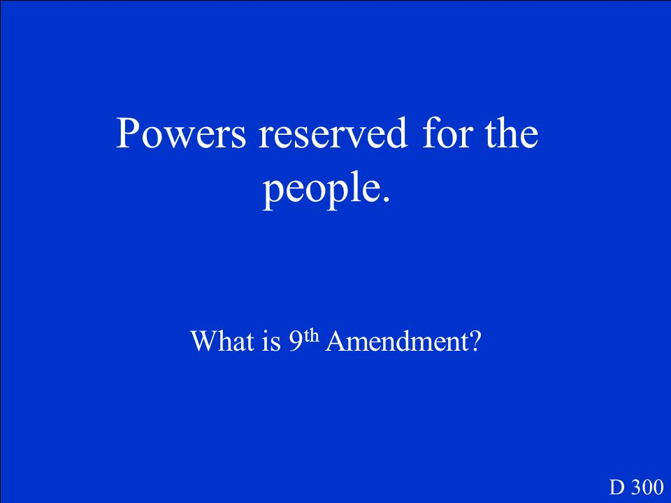 The right to a speedy and public trial. D 200 What is 6 th Amendment