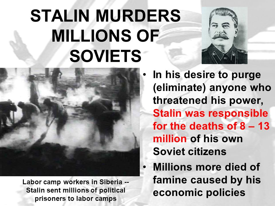 TOTALITARIAN STATE By 1939, Stalin firmly established a totalitarian government in the USSR In a totalitarian state the government suppresses all opposition and has strict control over the citizens who have no civil rights In totalitarian states citizens are expected to treat the dictator with adoration