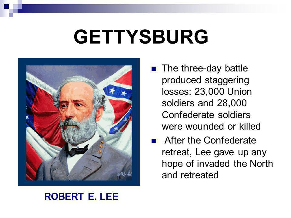 GETTYSBURG ADDRESS In November 1863, a ceremony was held to dedicate a cemetery in Gettysburg Abe Lincoln spoke for less than two minutes, but inspired a nation with his address Some say his Gettysburg Address remade America