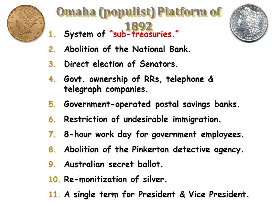 Platform of Lunacy
