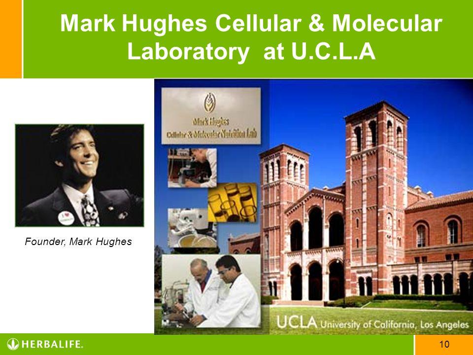 10 Mark Hughes Cellular & Molecular Laboratory at U.C.L.A Founder, Mark Hughes