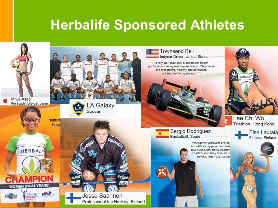 13 Herbalife Sponsored Athletes