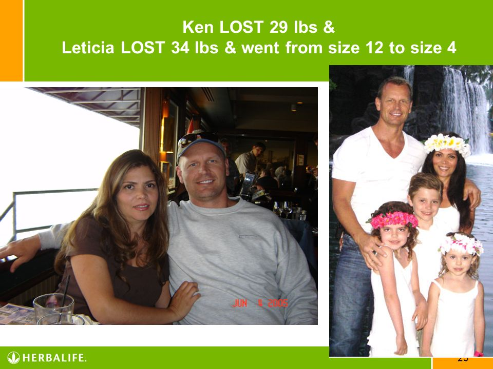 23 Ken LOST 29 lbs & Leticia LOST 34 lbs & went from size 12 to size 4