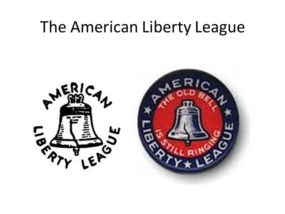 The American Liberty League