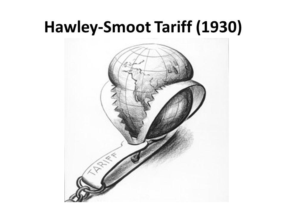 Hawley-Smoot Tariff (1930)