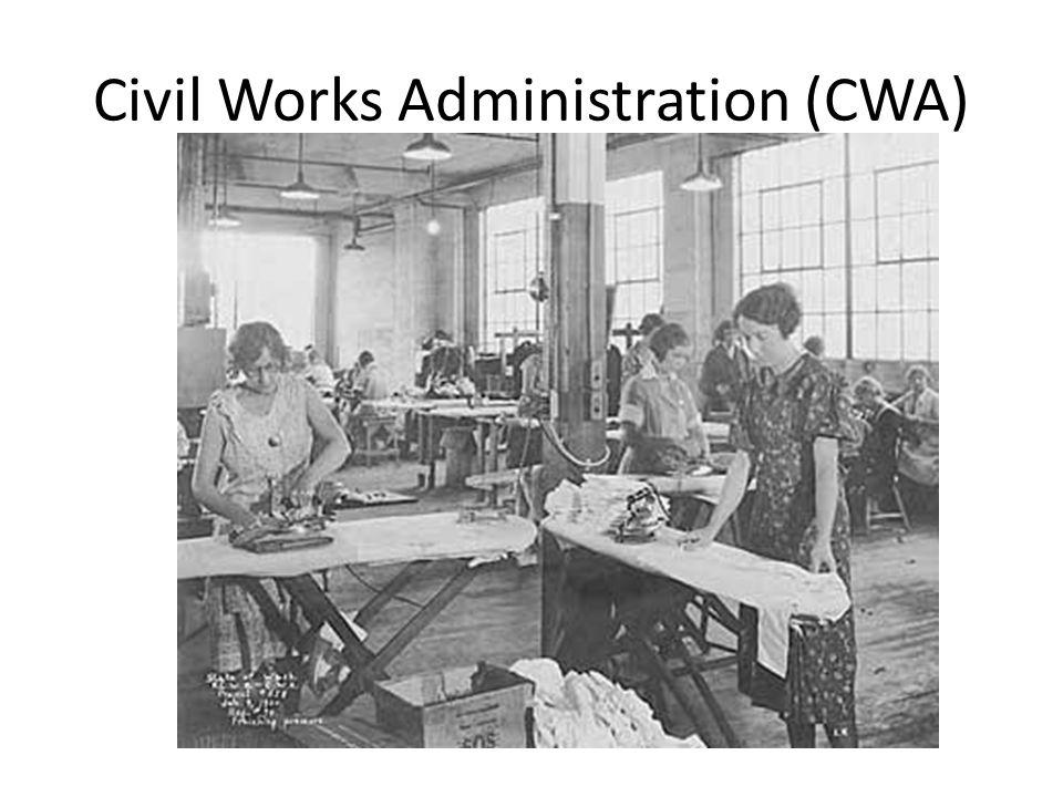Civil Works Administration (CWA)
