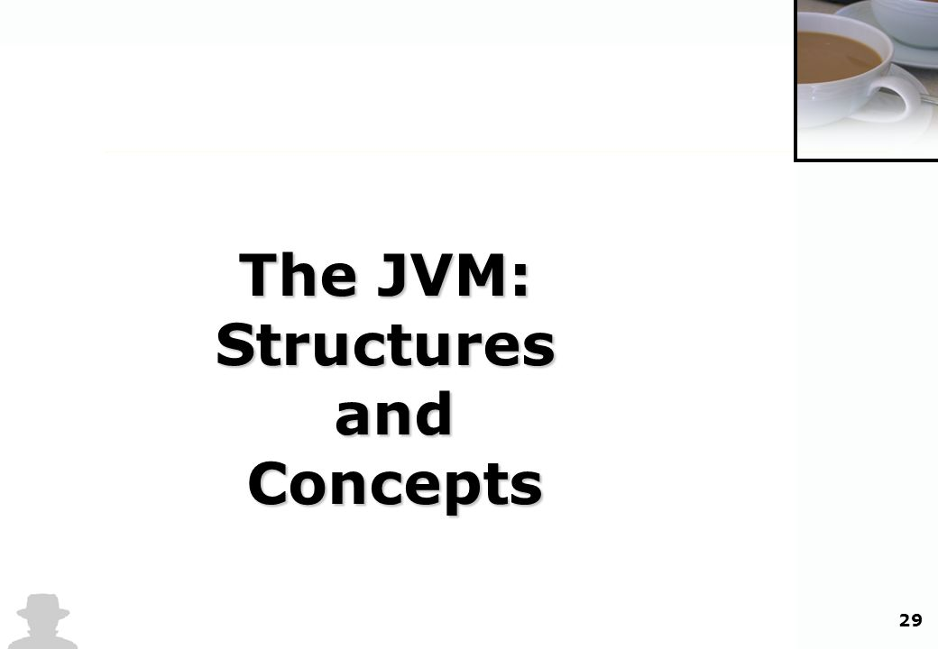 29 The JVM: Structures and Concepts