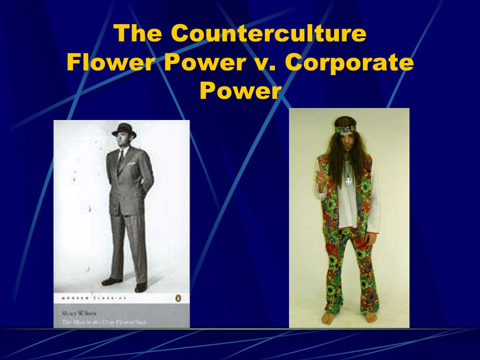 The Counterculture Flower Power v. Corporate Power