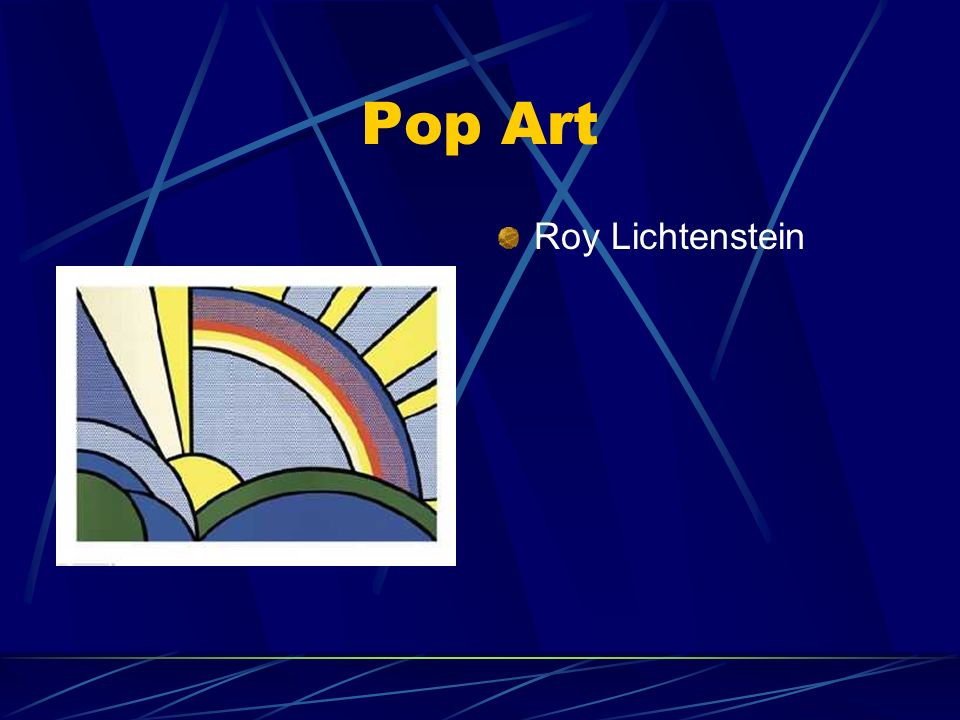 Pop Art Roy Lichtenstein