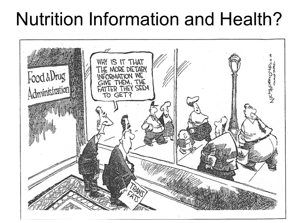 Nutrition Information and Health?