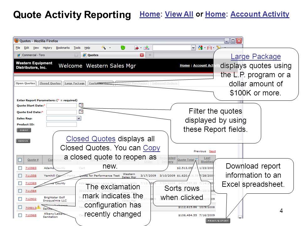 5 Home: My Customer Profile Edit customer information.