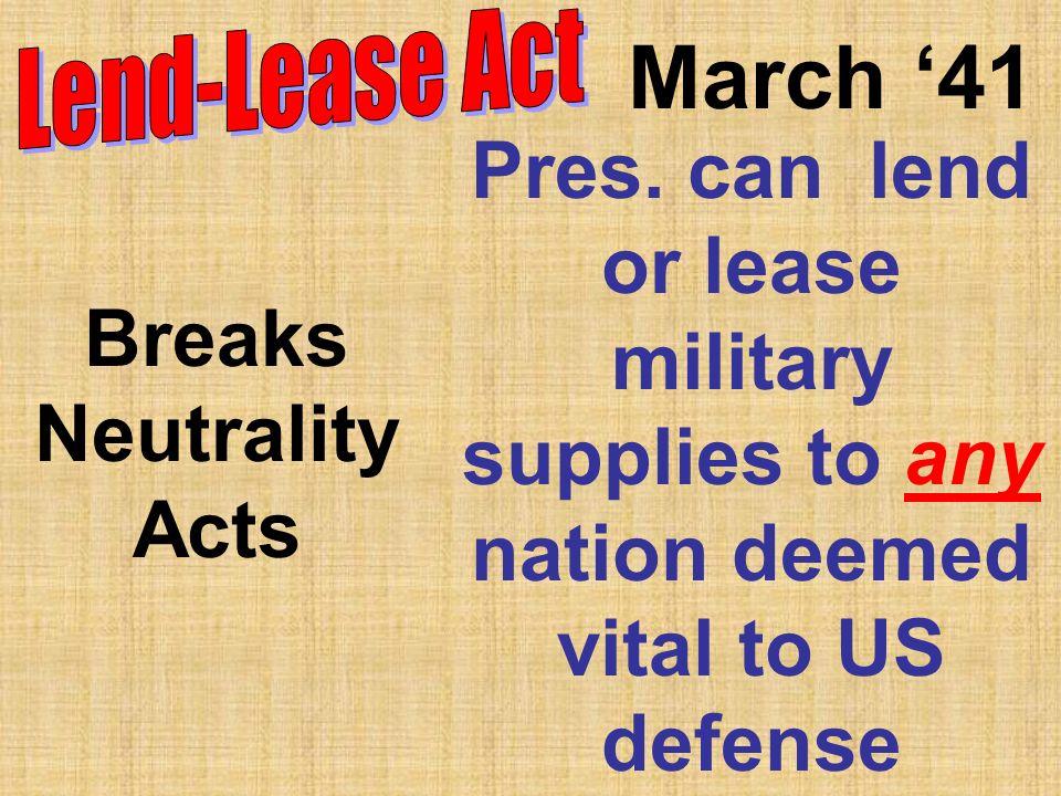 March 41 Pres.