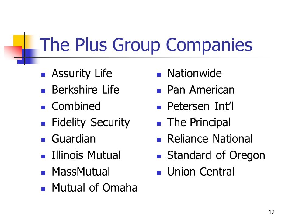11 Administrative New Business Processing and Underwriting Follow-up Contracting with Plus Group Companies Policy Service Relating to In-force Business