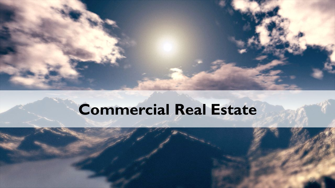 Commercial Real Estate 69
