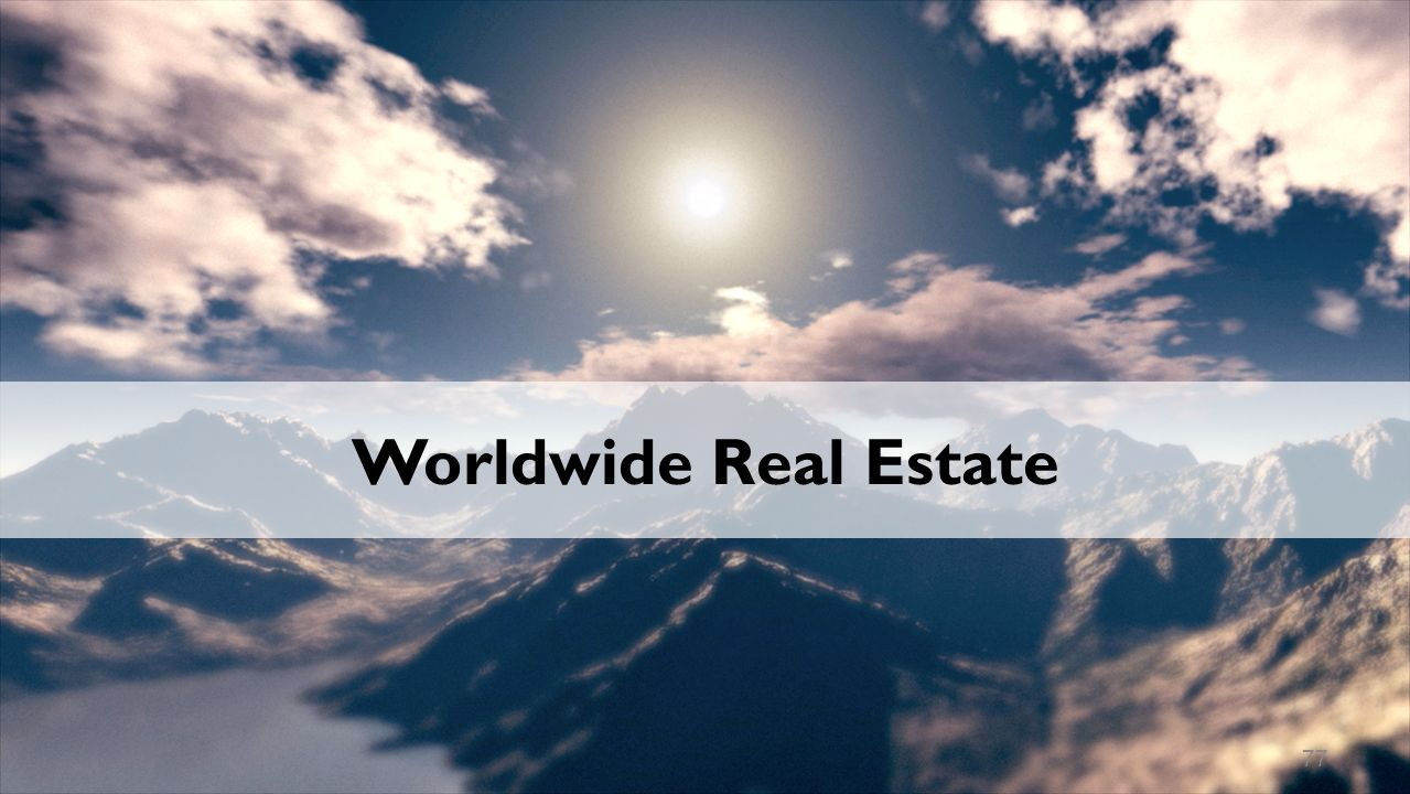 Worldwide Real Estate 77