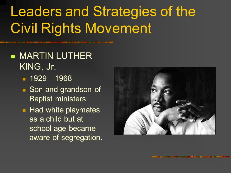 MLK Eloquent and inspiring.Gave an example of dignity despite all the prejudice around him.