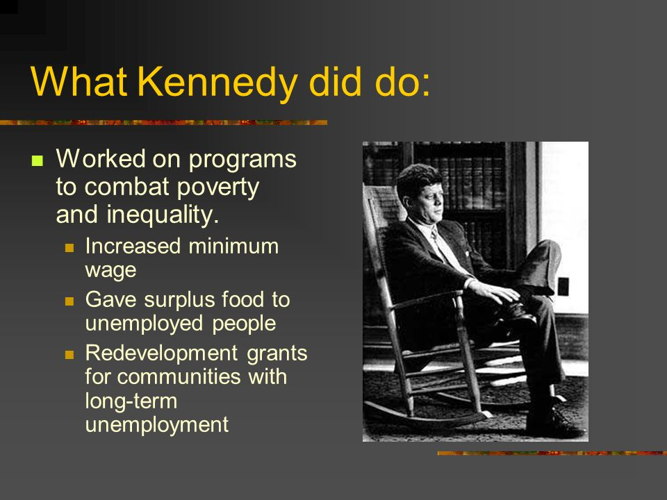What Kennedy did do Continued the Arms Race with the Soviets Signed a Nuclear Test Ban Treaty Bay of Pigs Disaster Sent troops into Vietnam Questions on Civil Rights commitments