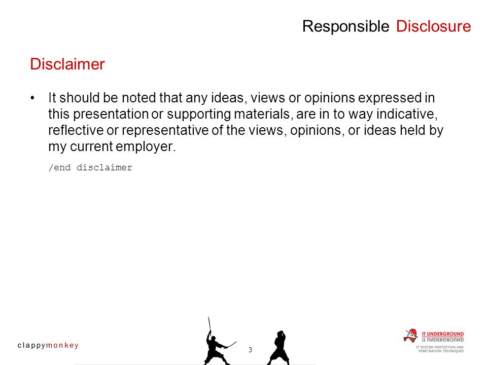 It should be noted that any ideas, views or opinions expressed in this presentation or supporting materials, are in to way indicative, reflective or r