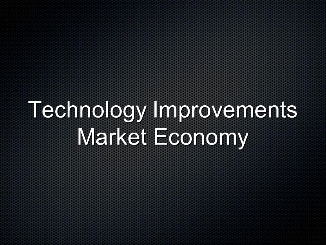 Technology Improvements Market Economy