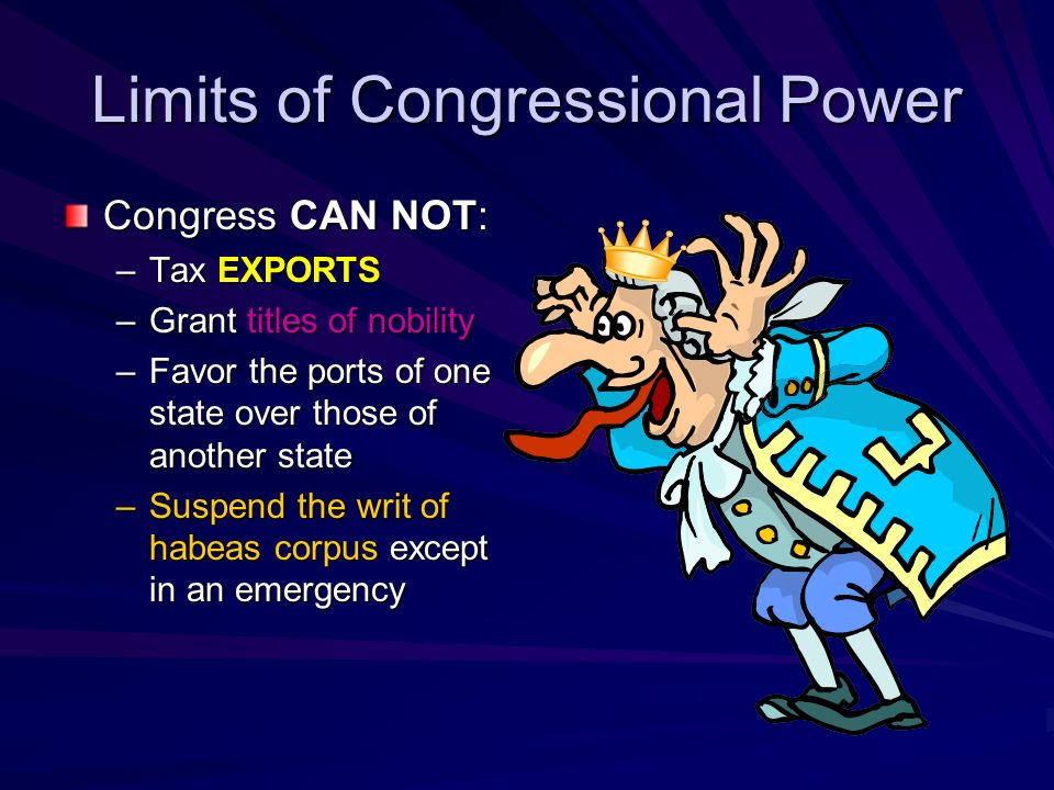 The E L A S T I C Clause The Elastic Clause/Implied Powers: –C–Congress may make all laws that are necessary and proper for carrying out its other pow
