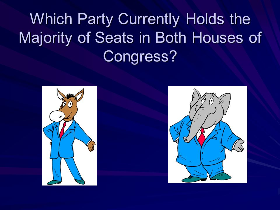 The Two House Congress The Congress is bicameral. It is divided into two houses: –T–T–T–The House of Representatives Representation based on populatio