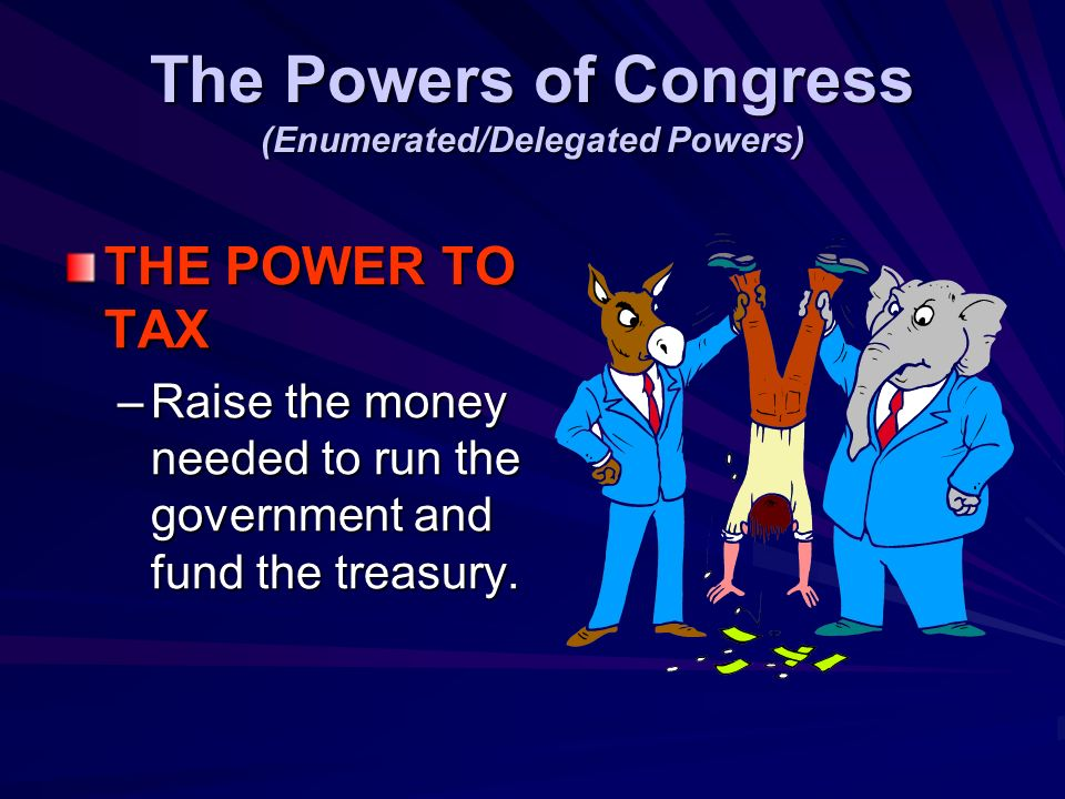 Why must all Tax/Revenue Bill originate in the House of Representatives? Tax/Revenue bills originate in the H.O.R. because the framers designed the Ho