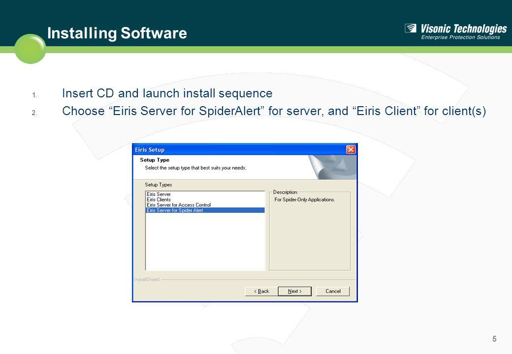 Building the EIRIS Server