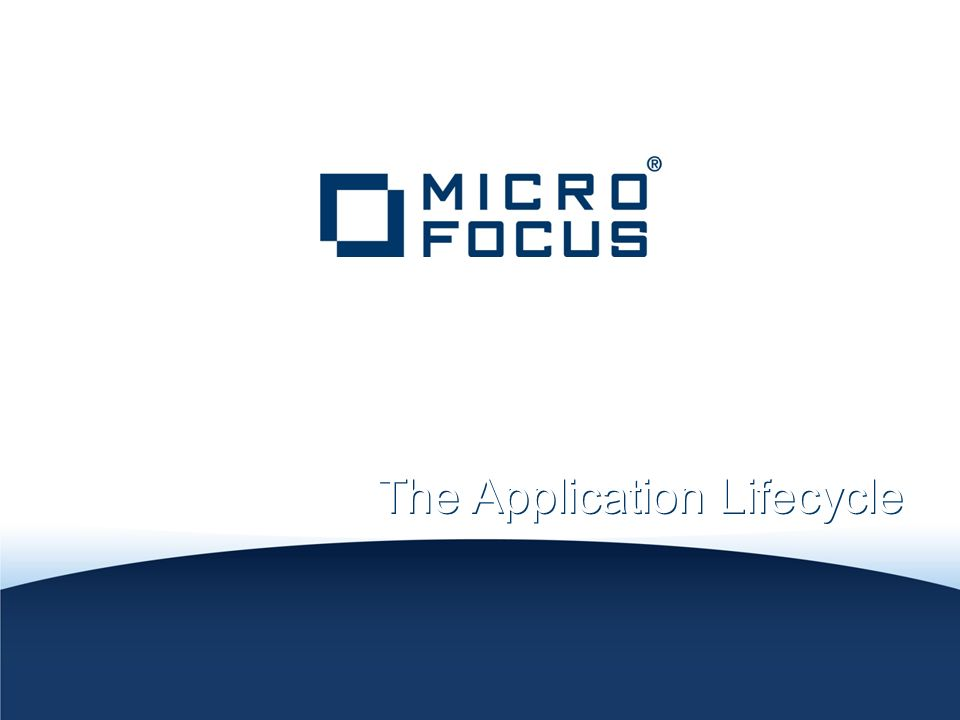 Accelerating The Application Lifecycle
