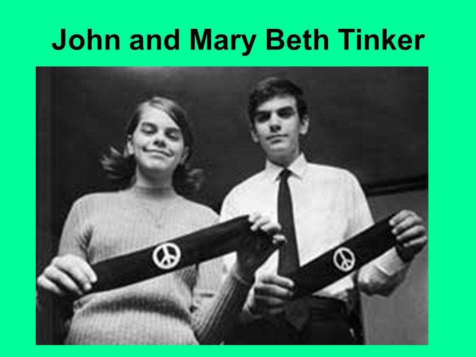 John and Mary Beth Tinker